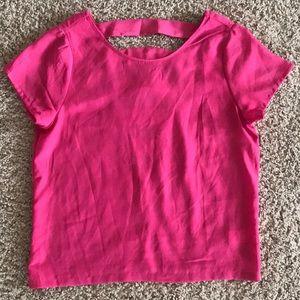 Material girl pink top